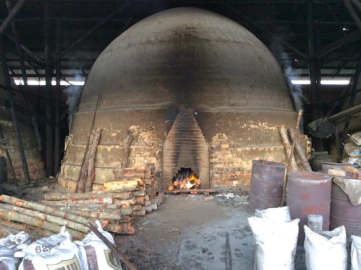 Charcoal Kiln Port Weld