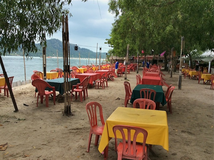 Seafood near Queensbay Penang