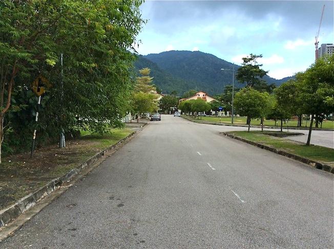 View of Bukit Zi Zai, Penang