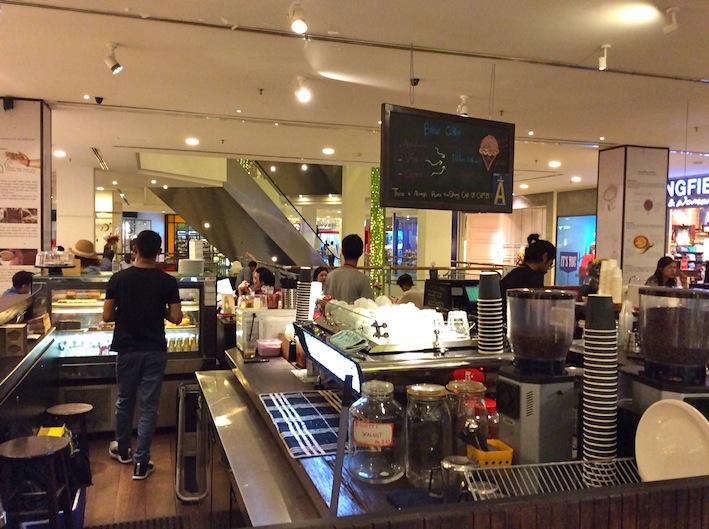Artisan Coffee, Bangsar Village. Kuala Lumpur