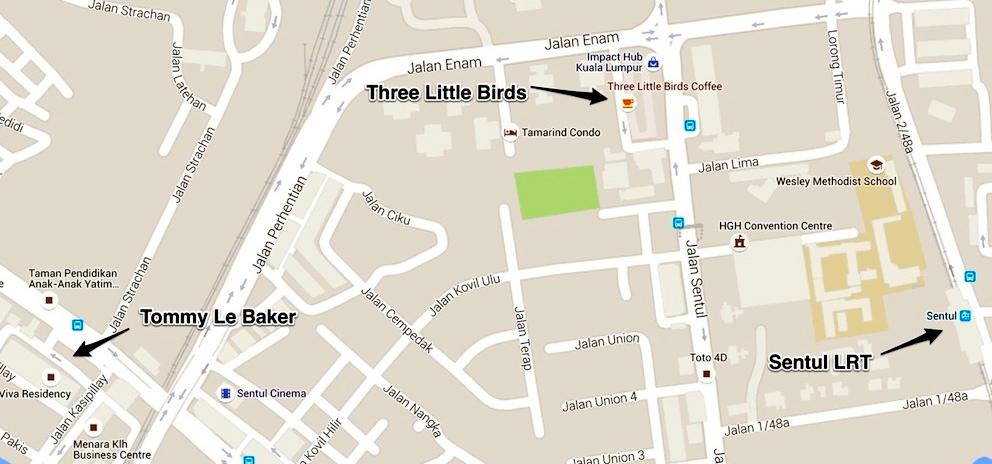 Tommy Le Baker, Three Little Birds. KL